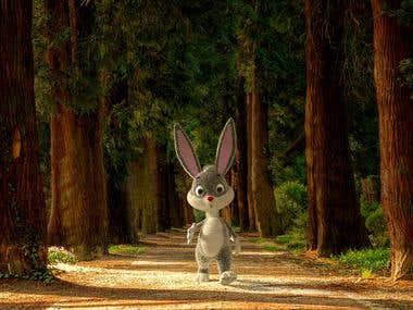 Rabbit Scene