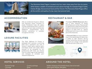 Panorama Hotel - Info flyer