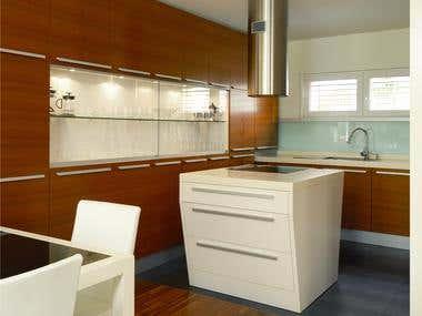 Interior design of private house