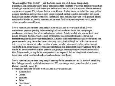 Media Impact on Society (Bahasa Melayu)
