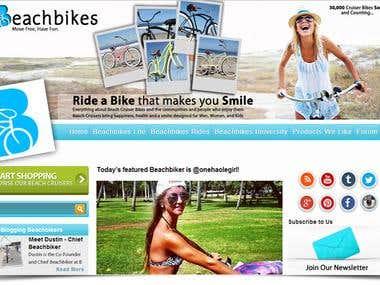 Beach Bikes design
