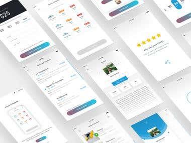 PlanIt App UI/UX Design