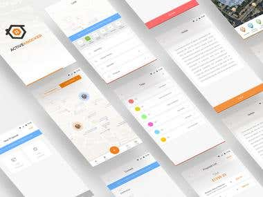 Active Knocker UI/UX Design