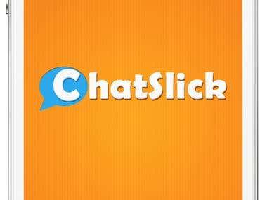 Chatslick Mobile Application Logo