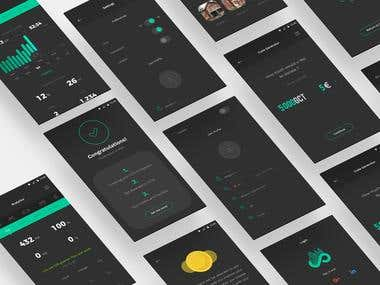 GCC App UI/UX Design