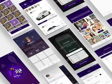 Mazad App UI/X Designer