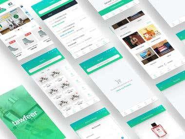 Tawfeer App UI/X Design