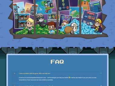 Wordpress - Game Landing Page