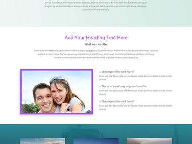Wordpress - Service Landing Page