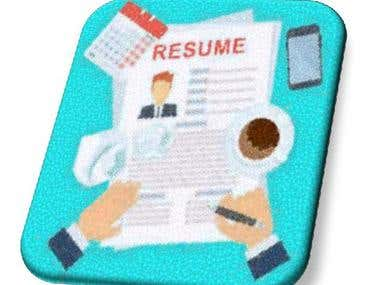 Article, Blog, Resume and cover letter writing