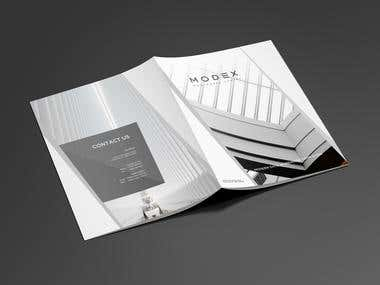Modex Brochure Design