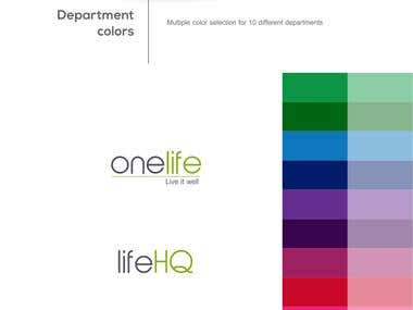 One Life Logo Design