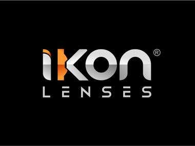 IKON Logo design
