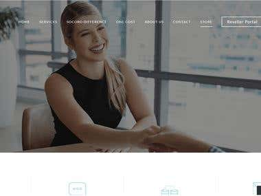 Scoro Shop Wordpress Site