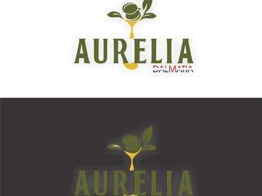Olive oil company logo design