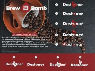 Logo - Coffee Destoner