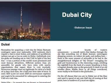 A Day to Dubai City