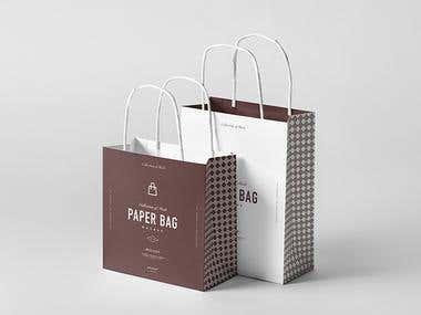 Paper Bag, Shopping Bag And Gift Box Design