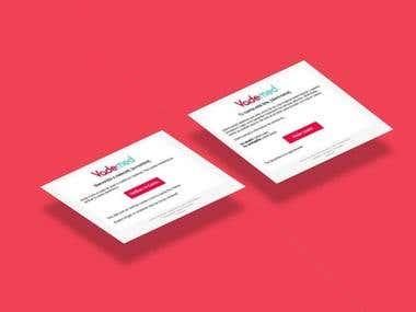 Website for a Tech StartUp