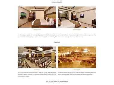 Hotel & Restaurant Website