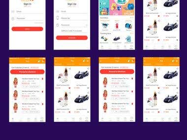 E-Commerce Android Application