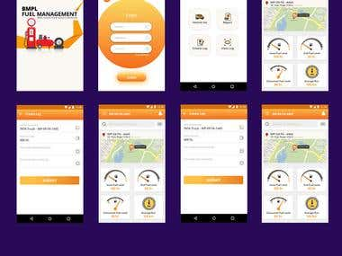 Fuel Management Android Application