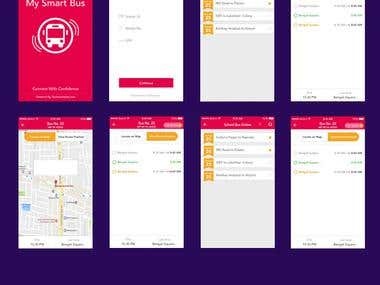 School Bus Android Application