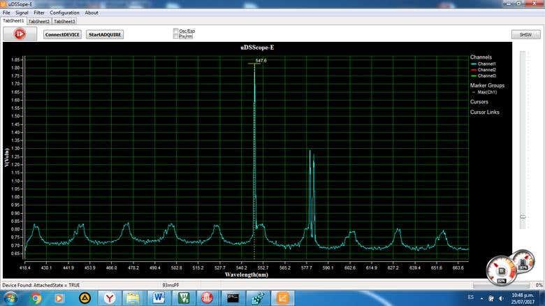 Development of Spectrometer STM32F407VG(Keil uVIsion) | Freelancer