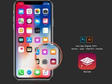 Conception Icon App Design