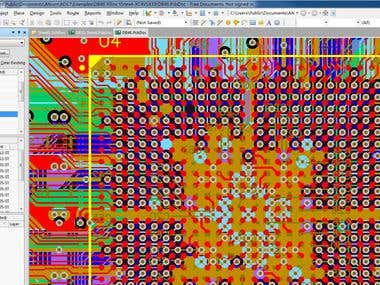 SCH Design, from 2 to 12-Layers PCB Design