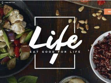 Restaurant & Cafe Website