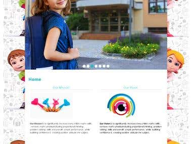 Website for Educational Institutuion
