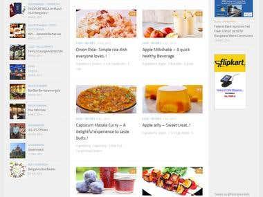 A blog Website