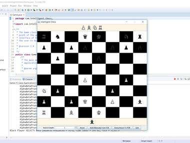Artificial Intelligent Chess Playing Game