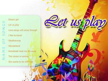 CD / DVD cover design