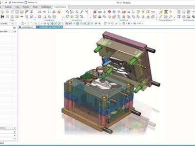 NX Mold Tooling design