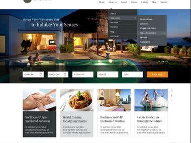 Service Booking Website