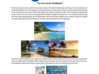1. Barbados Travel