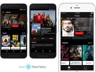 React Native Movie App