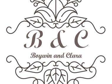 B and C