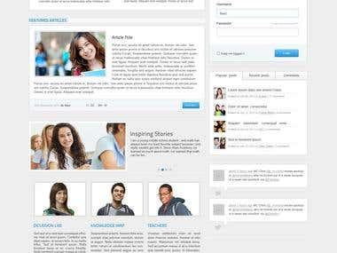 StarStudent Joomla Website