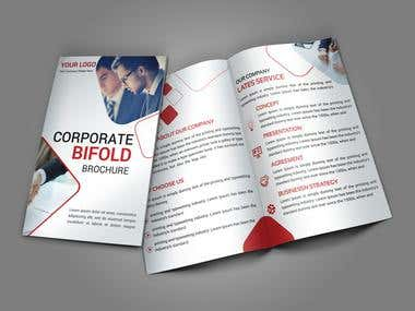 Corporate Bifold Brochure Design