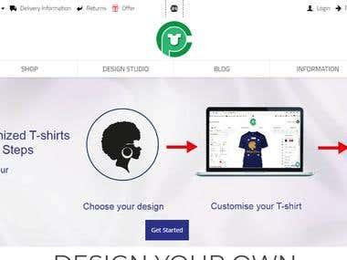Website For Custom printing