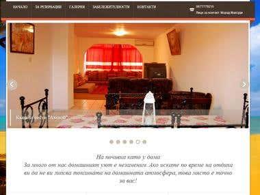 Wordpress Hotel Website