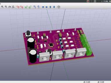 PCB design in KiCad