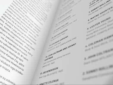 Tenor sax brochure