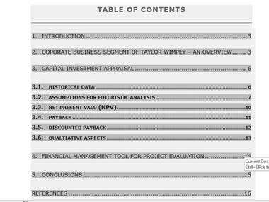 Project Evaluation -NPV,.IRR,Payback, Sensitivity Analysis