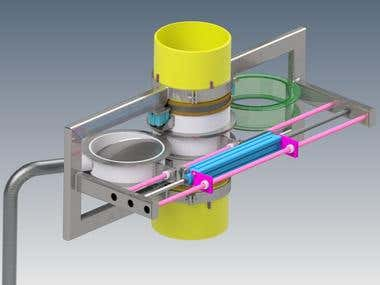 Processing Plant - Spool Shuttle Assembly