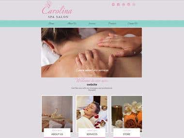 A business Website For a SPA