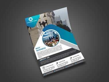 Creative Corporate Business Flyer Design